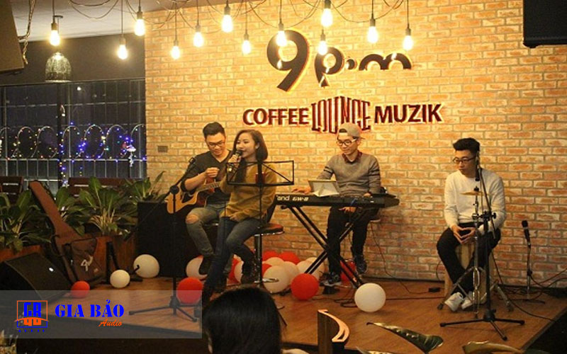 am thanh acoutic quan cafe ca nhac